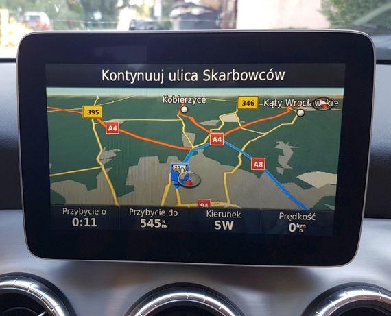 Mercedes Garmin Map Pilot V15.0 2021 Mapa Europa Karta SD Aktualizacja