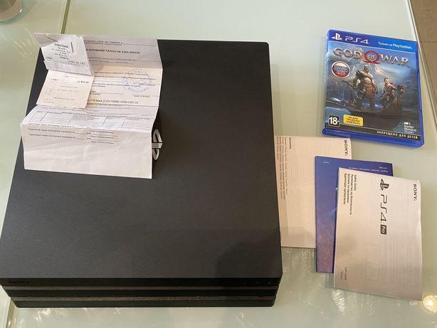 Продам PS4 Pro 1TB CUH-7208B