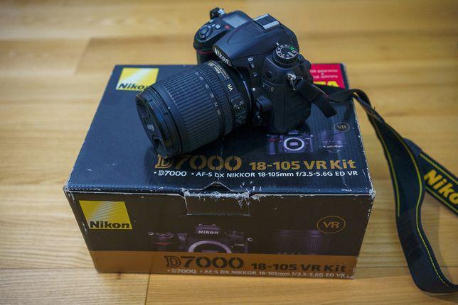 Nikon D7000 + 18-105/3.5-5.6 G ED DX VR