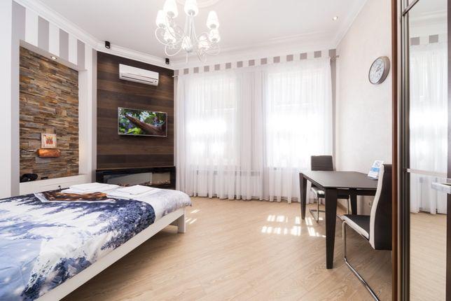 апартаменты посуточно Fisher для пары центр на Софиевской 9