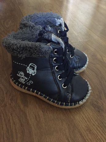 Детские ботиночки , ботинки зимние