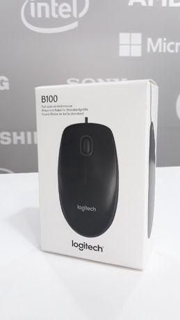 Rato Logitech B100 USB (NOVO)