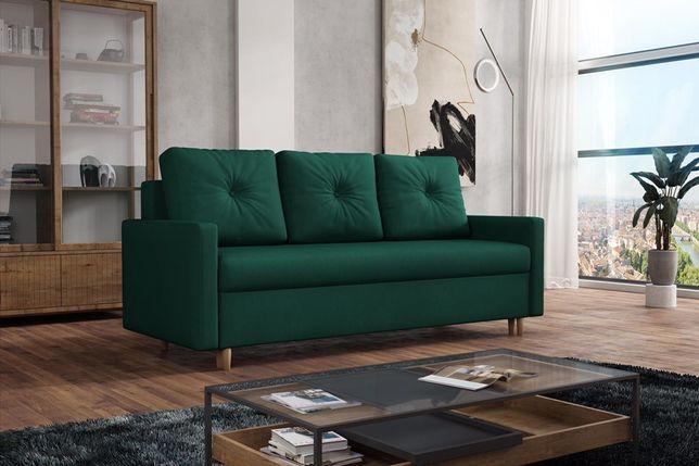 Kanapa Skandynawska. Wersalka, łóżko, sofa. Automat, funkcja spania!
