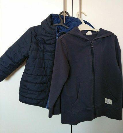Kispo e casaco de algodão da Zippy, 4/5 anos. Portes incluídos