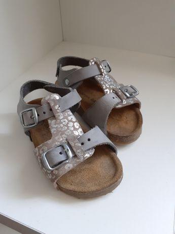 Босоніжки шкіряні, босоножки кожаные, сандалі, типу birkenstock