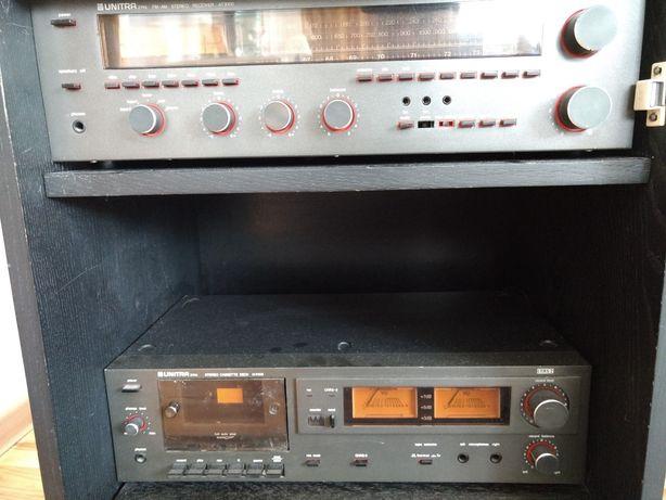 UNITRA ZAK Stereo AT9100 Receiver M9108 Cassette