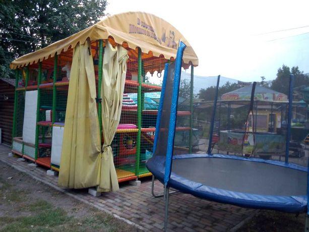 Детская Игровая комната лабиринт непоседа, уличный батут аттракцион