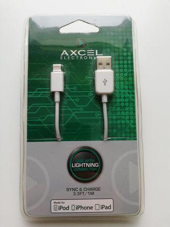 Kabel do ładowania iPoda, iPhona i iPada nowy z USA