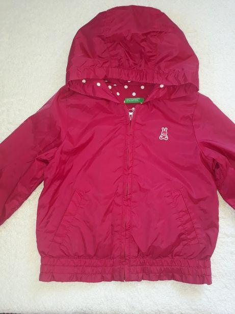 Курточка ветровка на девочку 1-2годика