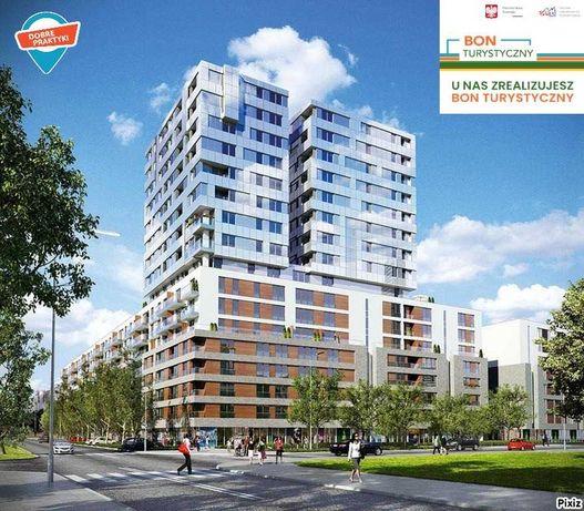 Warszawa 24/25/26: Apartament 2 pokoje/Bon turyst ROZTANCZONY NARODOWY