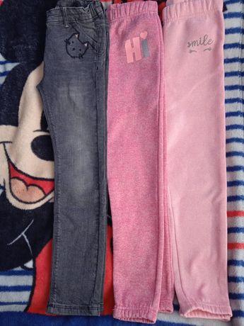 Spodnie/getry rozmiar 128