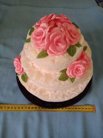 Бутафорский торт на свадьбу