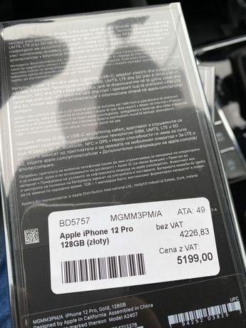 Apple iPhone 12 pro 128gb Grafitowy Silver zafoliowany Gliwice Zabrze