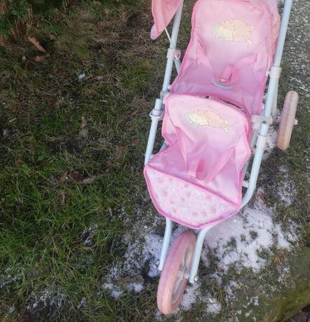 wózek dla lalek trójkołowy
