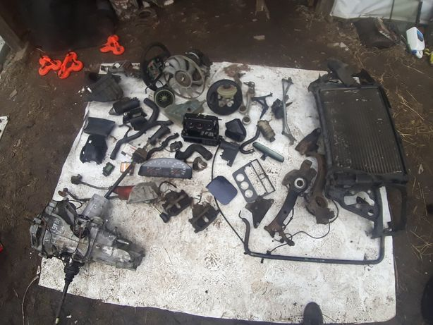 Ауді Audi A4 B5 1.9 TDI ККП полуось ступица люк радіатор помпа двери