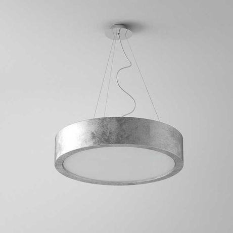 Lampa wisząca Ronda 360 srebrna Cleoni