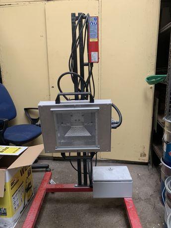 Promiennik lakierniczy UV Hyperion + Sata Jet 100 BF RP - do UV