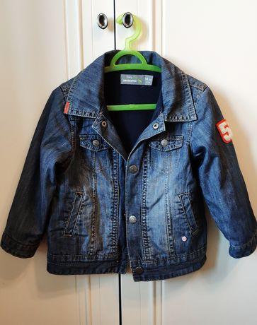 Джинсовая куртка на трикотажной подкладке Orchestra 1,5-2 года