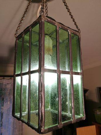 Lampa wisząca / lampion w dawnym stylu tradycyjnym (retro).