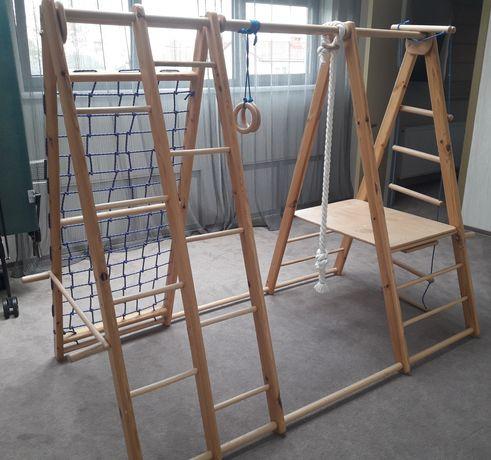 Дитячий ігровий майданчик шведська стінка