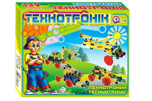 """Конструктор """"Технотроник"""" 0830 (10) """"ТЕХНОК"""", (Украина)"""