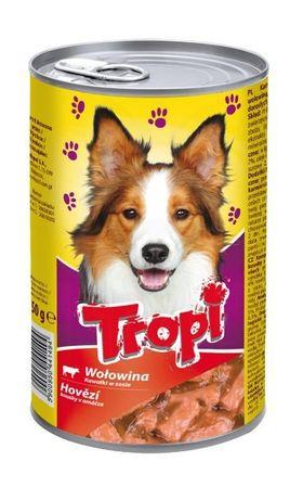 Karma dla psa w puszce 1250g smak z WOŁOWINĄ
