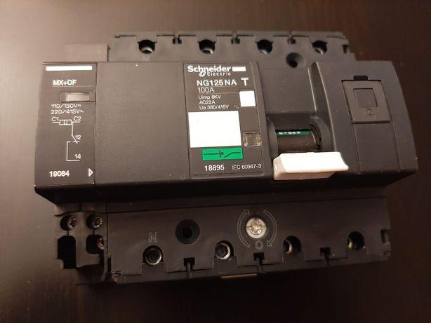Schneider Electric NG125NA 4P 100A + wyzwalacz wzrostowy
