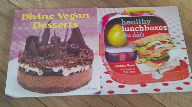 Książki j. angielski zdrowe odżywianie dla dzieci - oddam za kawę!