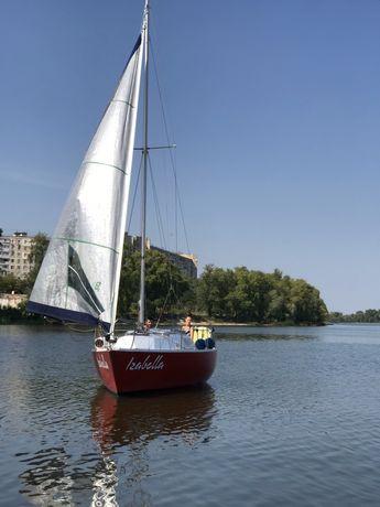 Аренда, прокат яхты Изабелла, Киев)