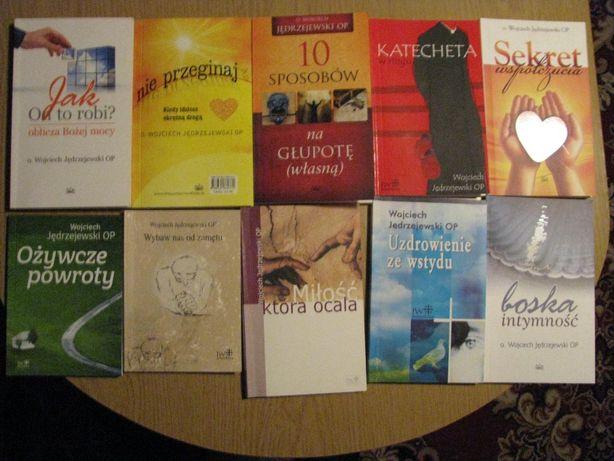 Jędrzejewski Wojciech 10 książek-wysyłka lub zegarek Gratis