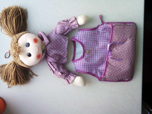 кукла с карманом