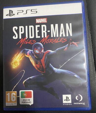 Vendo/Troco Jogo PS5 Spider Man Miles Morales