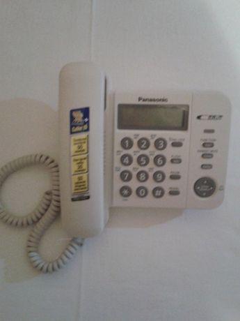 Новый стационарный телефон с АОН Panasonic KX-TS2356UA + кабель.