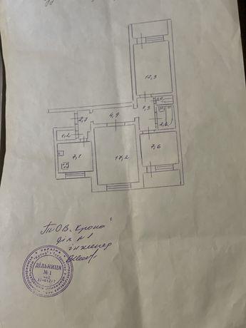 Продам 3х комнатную квартиру 1 мкрн. Левый берег