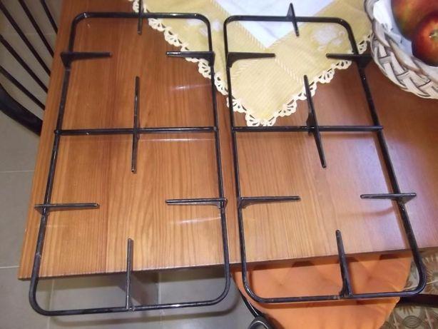 Vendo par de grelhas como novas para placa ou fogão 42,4x23,2cm