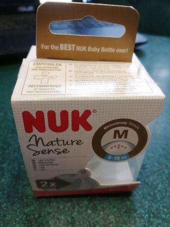 Новый набор сосок для бутылочки Nuk