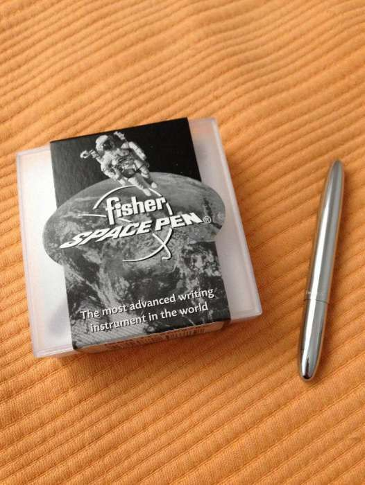 Caneta Fisher space bullet pen cromada