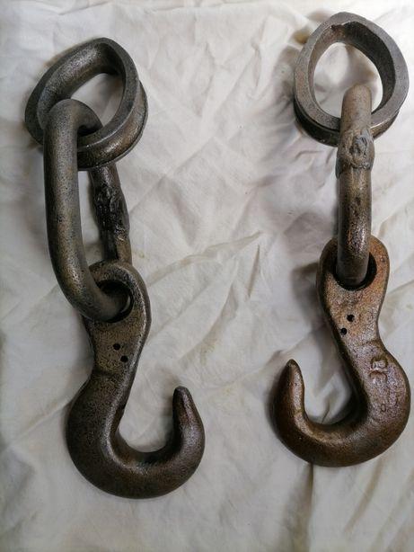 Крюк для строп, гак крана, тельфера, крюк чалочный