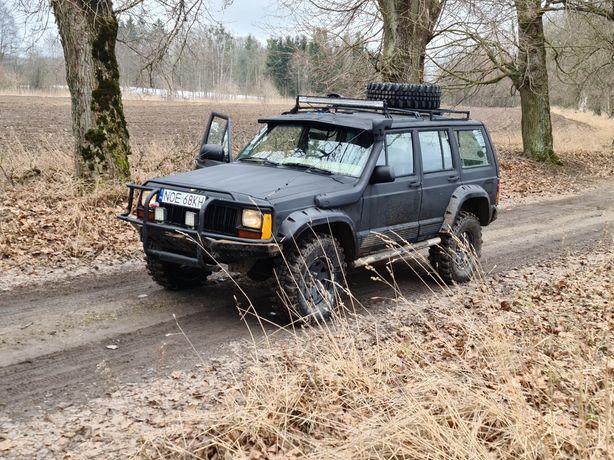 Jeep xj 4.0 teren