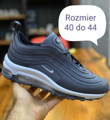 Nike Air Max 97. Rozmiar 44. Kolor szary. Pobranie.