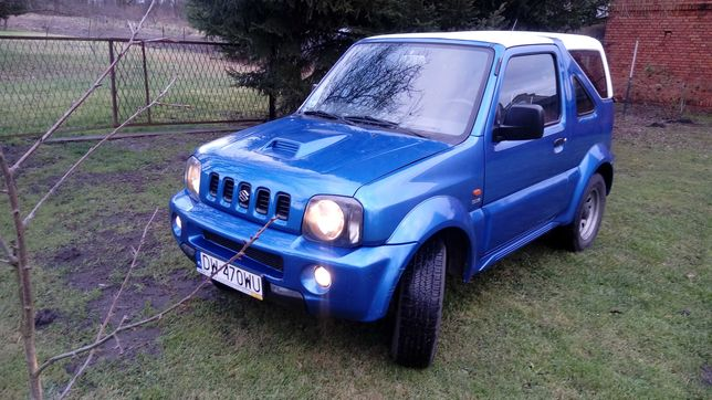 Suzuki Jimny 1.5 DDIS 4x4 Hard Top klimatyzacja
