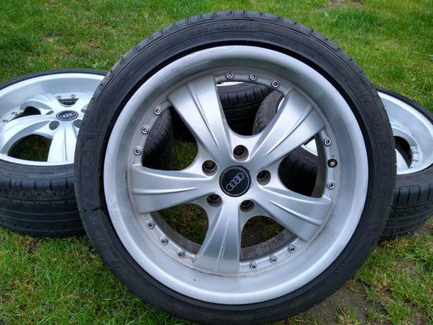 Alufelgi 18 cali DEZENT 5x112 Audi VW Seat Skoda Mercedes RANT letnie