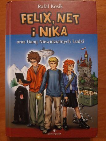 Felicyty, Net i Nike oraz Gang Niewidzialnych Ludzi. R. Kosik