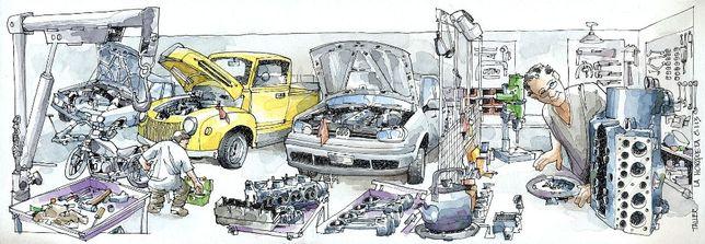 Ремонт авто любой сложности