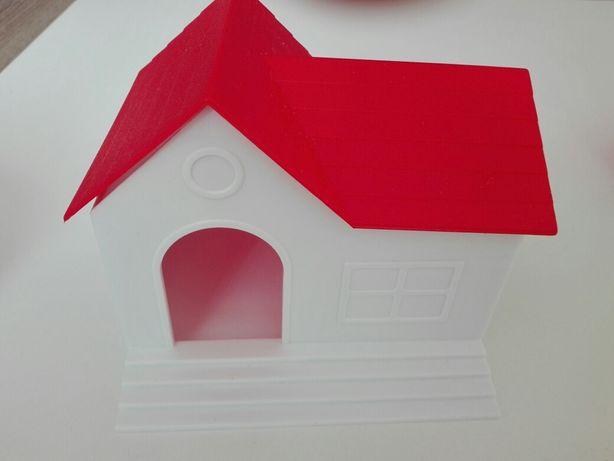 Plastikowy domek dla gryzonia