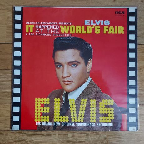 Elvis Presley, It Happened At The World's Fair, Ger, 1980, bdb