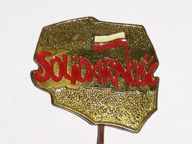Wpinka/przypinka/odznaka NSZZ Solidarność