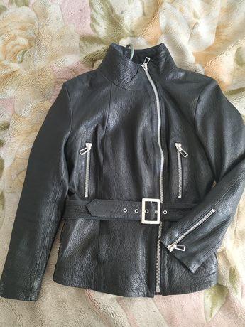 Кожаная куртка- косуха,Турция Alvadonna