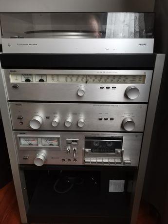 Hi-fi Stereo Philips/Rezerwacja do 16 Maja