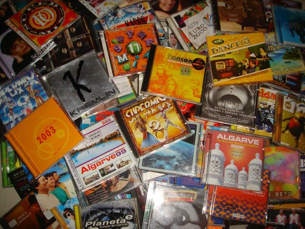 Lote de 10 cd's Albuns originais